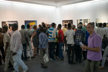 VERNISSAGE EXPO « LES SORCIERS DU RING & CATCHEURS CONGOLAIS »